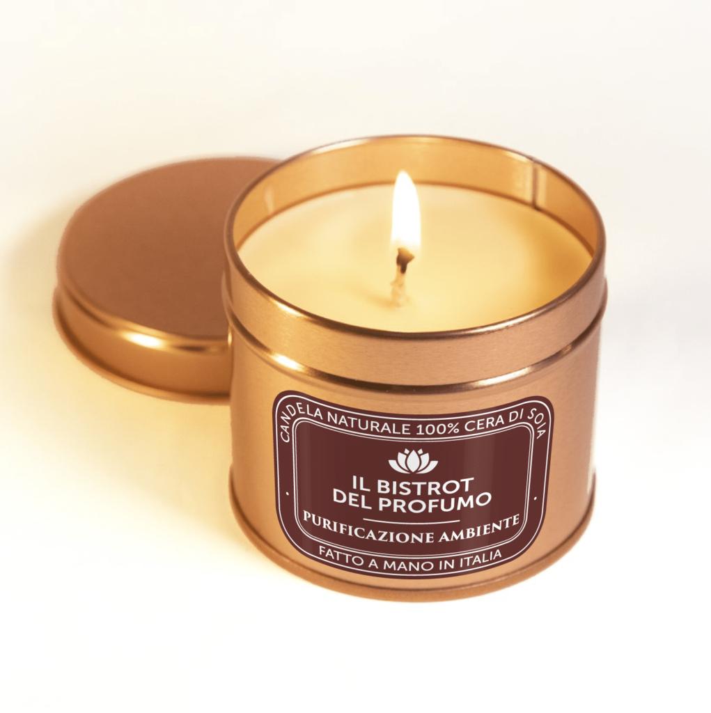 candela purificazione ambiente